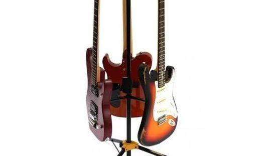 Atril Hércules Triple para guitarras