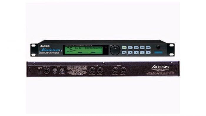 Procesador de voz digital Alesis Midiverb 4